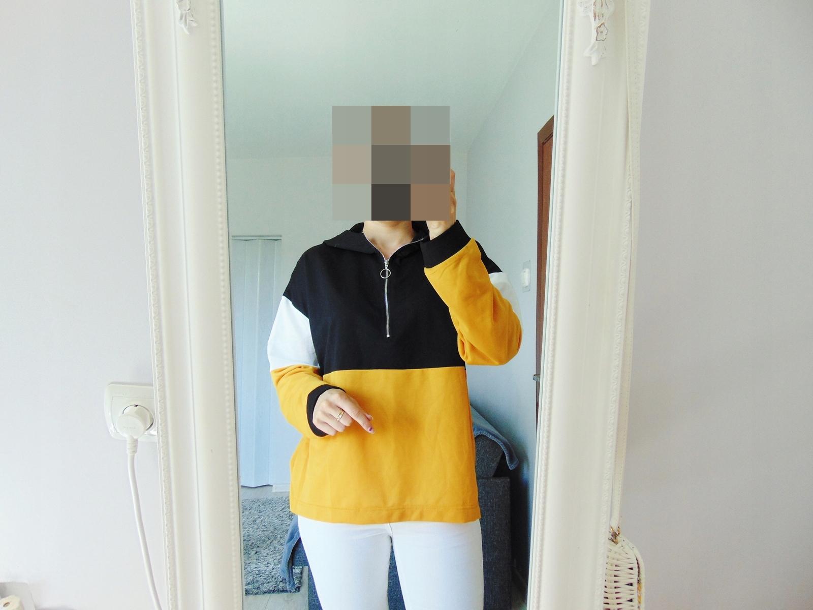 Shein bluza z kapturem