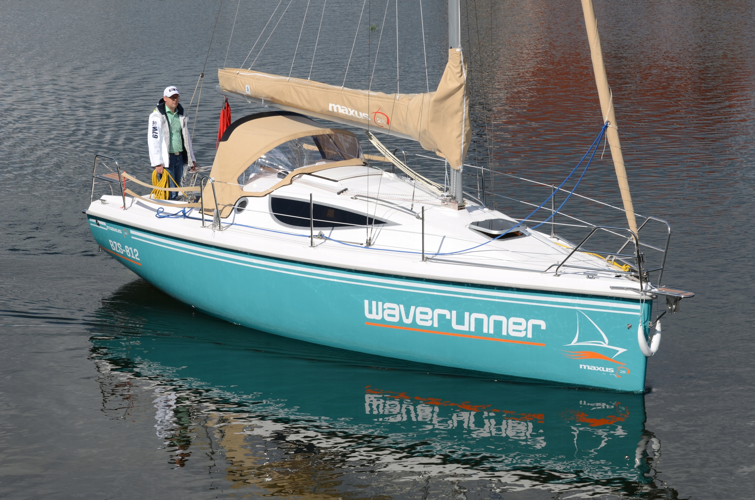 Maxus 28 Super wyposażony / czarter jachtu Mazury