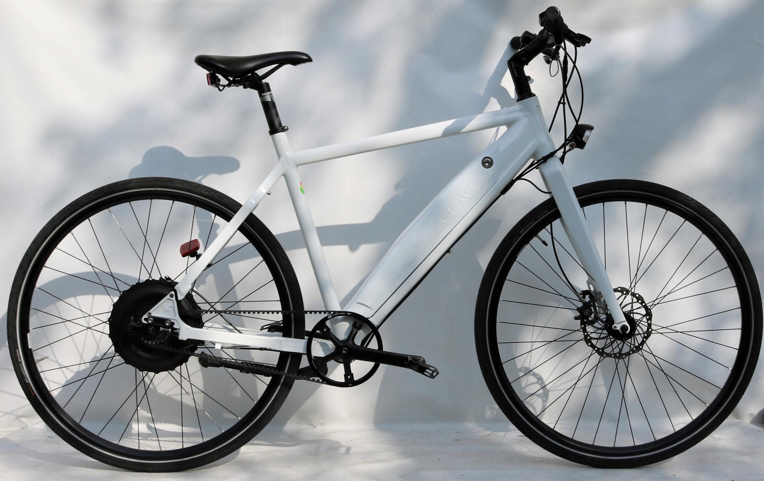 Rower crossowy GRACE E-BIKE BIONX, MAŁY PRZEBIEG