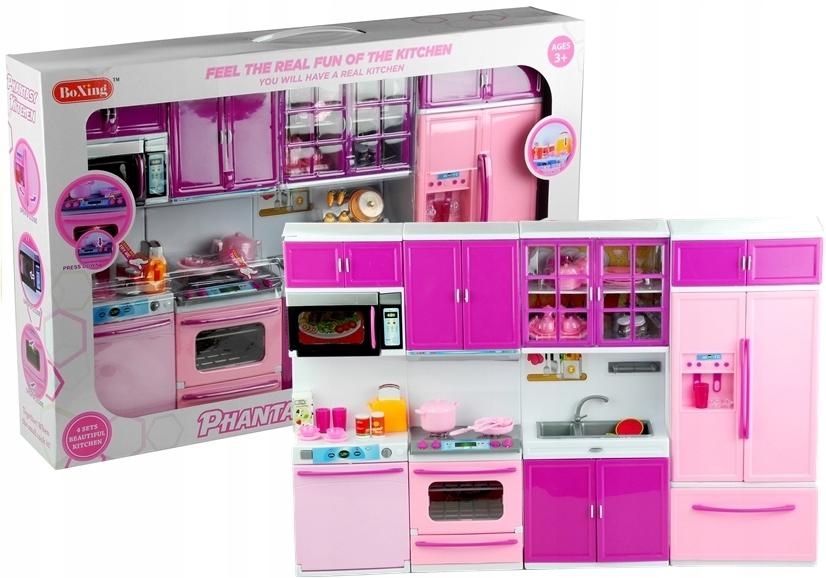 Zabawka Dla Dzieci Kuchnia Dla Lalek Meble Agd Jed
