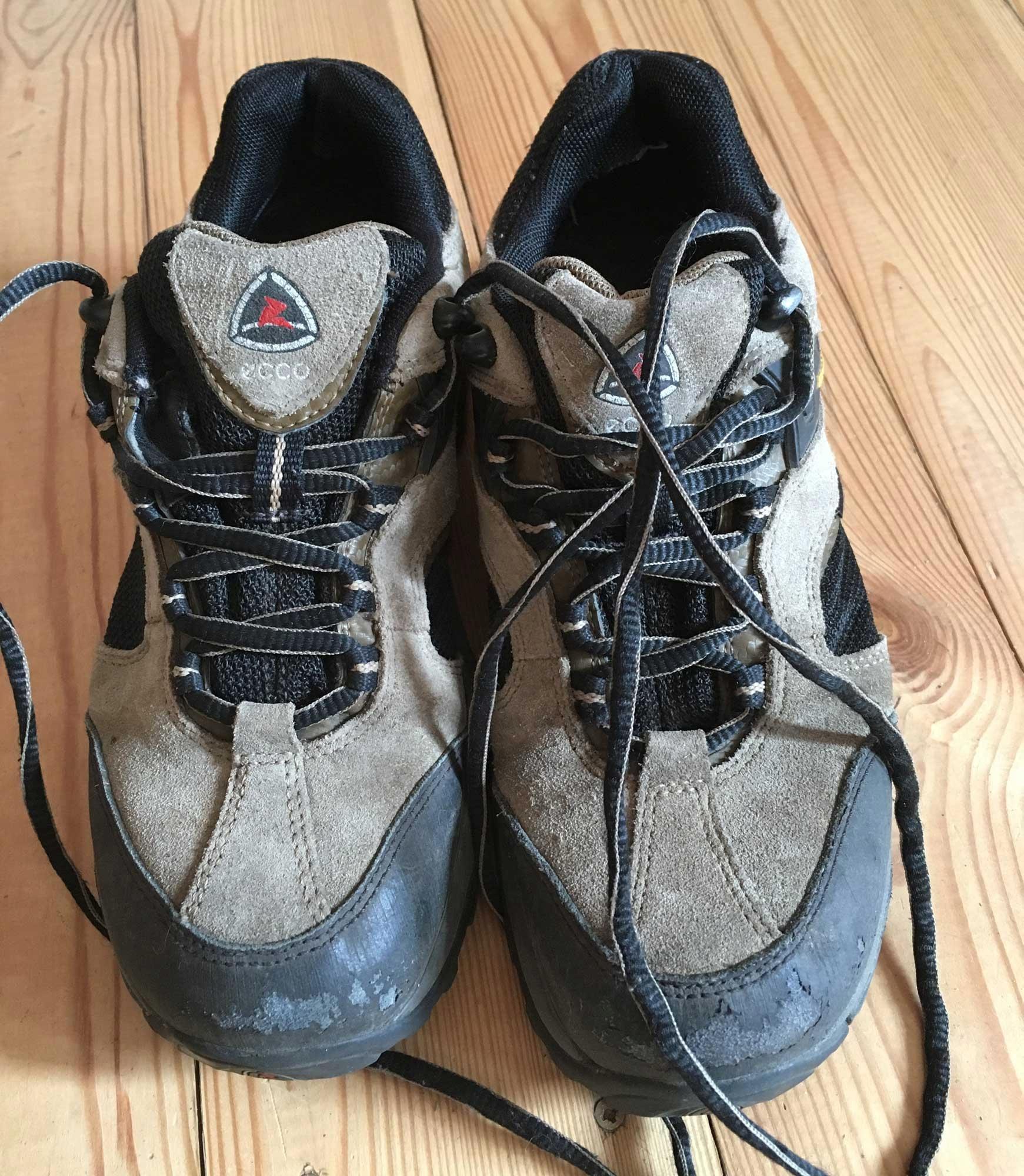 ECCO Receptor, buty trekkingowe, r. 38 - skóra