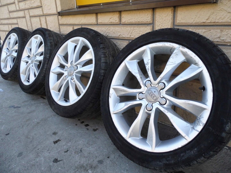 Alufelgi Felgi 5x112 17 Audi A3 8p Lift Komplet 7544479716