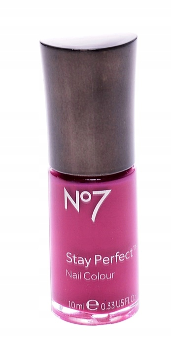 5392-29 ..No7 STAY PERFECT.. FIOLETOWY LAKIER 10ML