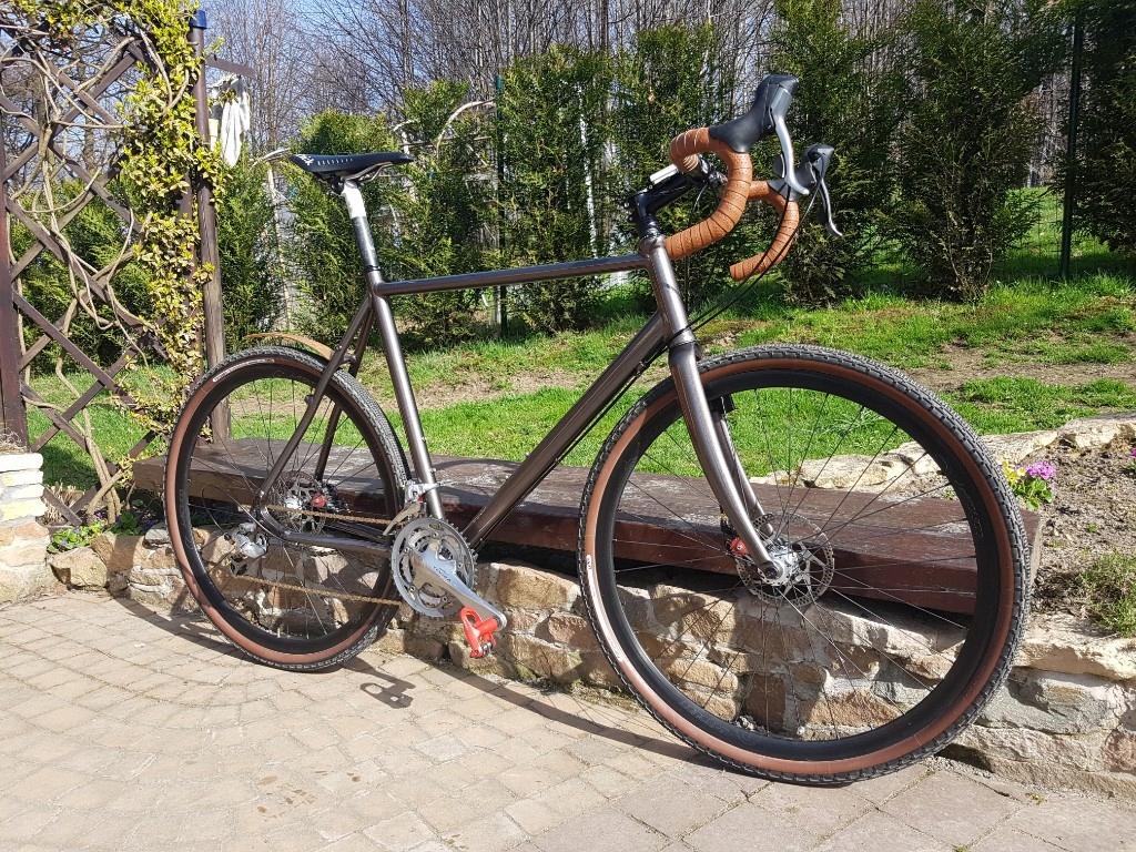 Rower gravel Focus przełajowy żwirek 60cm GRATIS