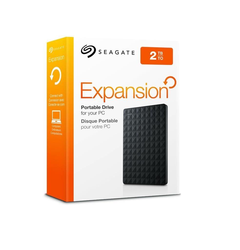 Dysk zewnętrzny Seagate Expansion 2,5'', 2TB, USB