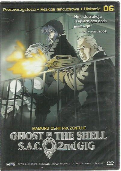 DVD GHOST IN THE SHELL S.A.C. NOWA FOLIA