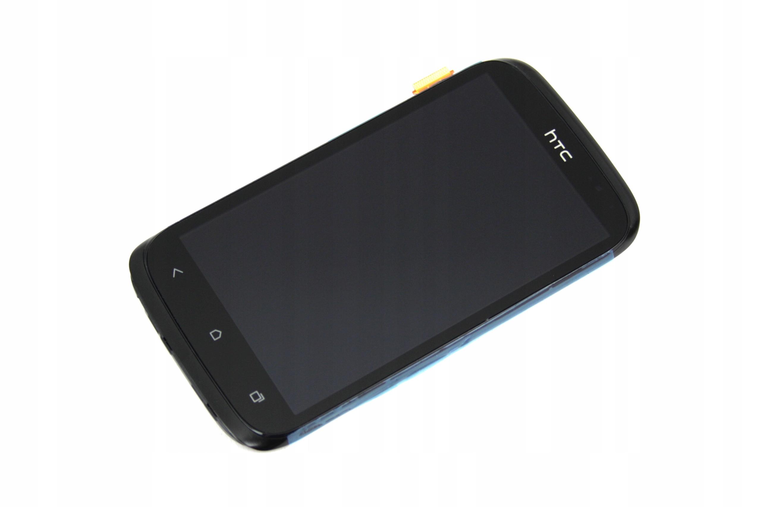 HTC DESIRE X WYŚWIETLACZ Z RAMKĄ LCD DIGITIZER