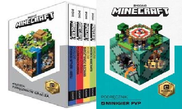 Minecraft Kolekcja podręczników pakiet 5 książek