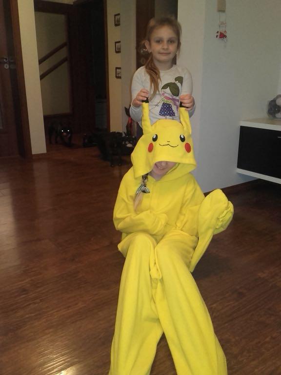 988e49cf177cb5 Onesie piżama pokemon pikachu - 7206001009 - oficjalne archiwum allegro