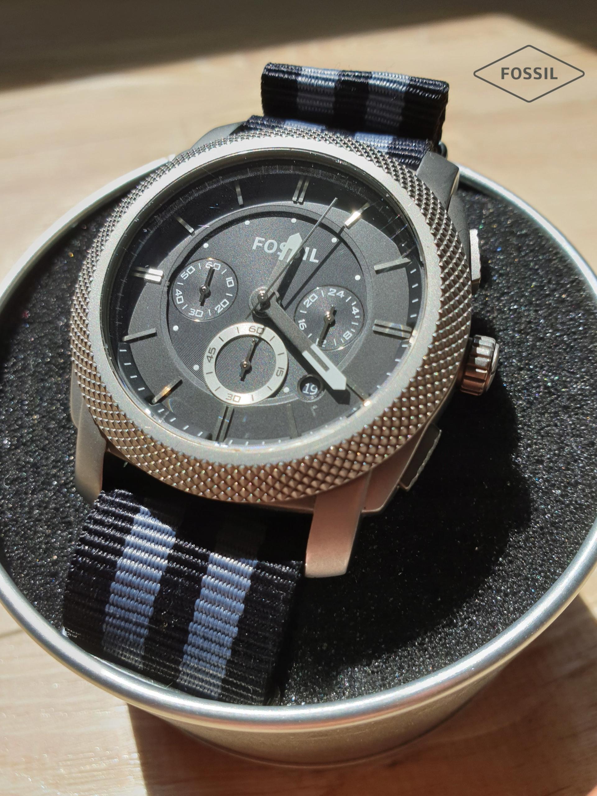 Zegarek męski Fossil TI1003 Titanium Case używany