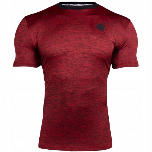 Gorilla Wear Roy - Koszulka męska Czerwona XL