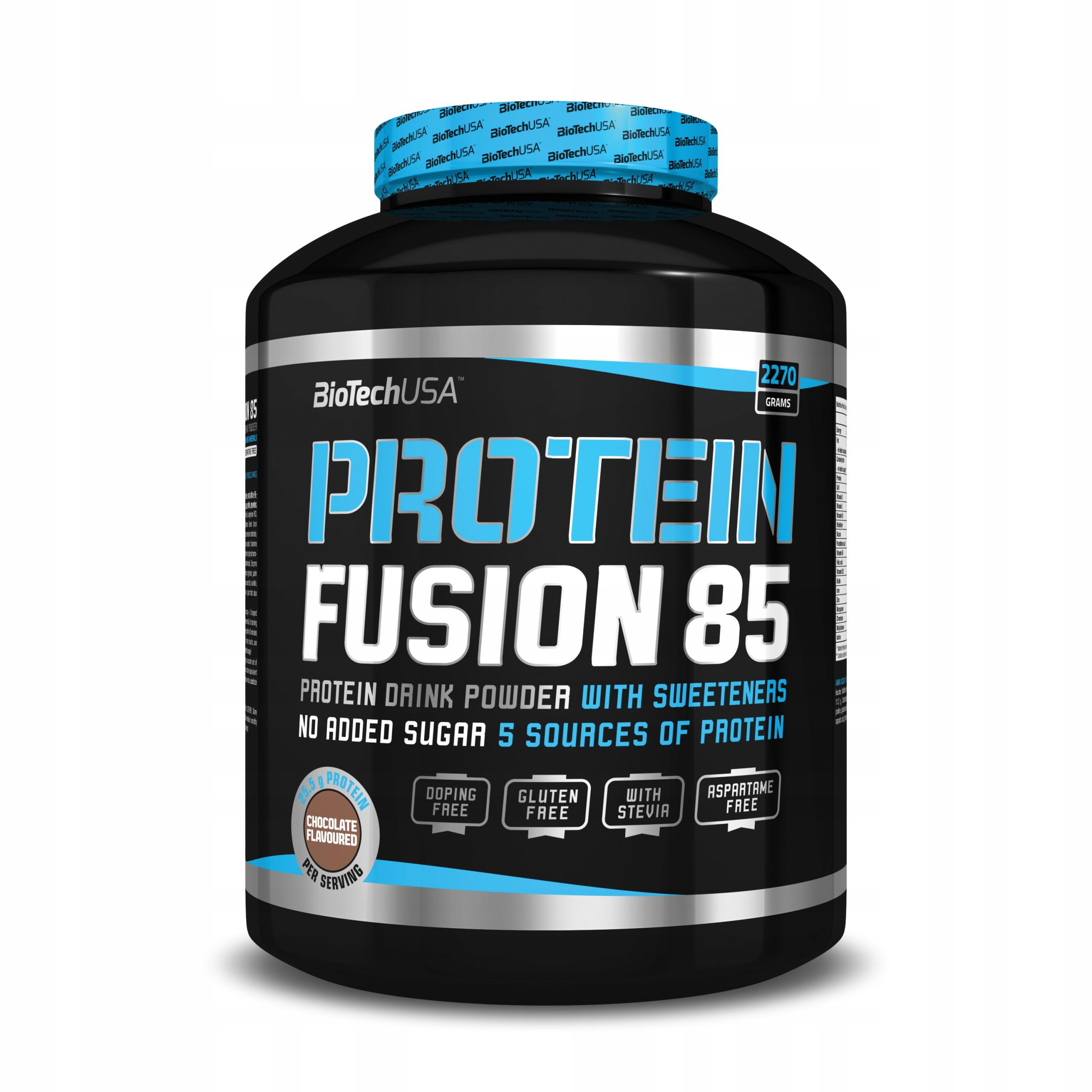 BioTech Protein Fusion 85 - 2270g wanilia