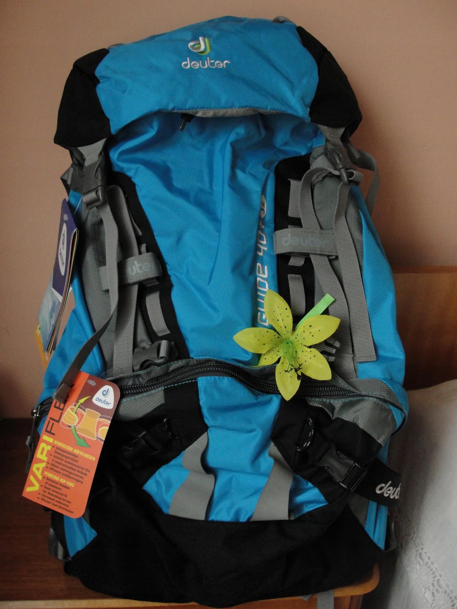 Plecak damski wspinaczkowy Deuter Guide 40+8sl