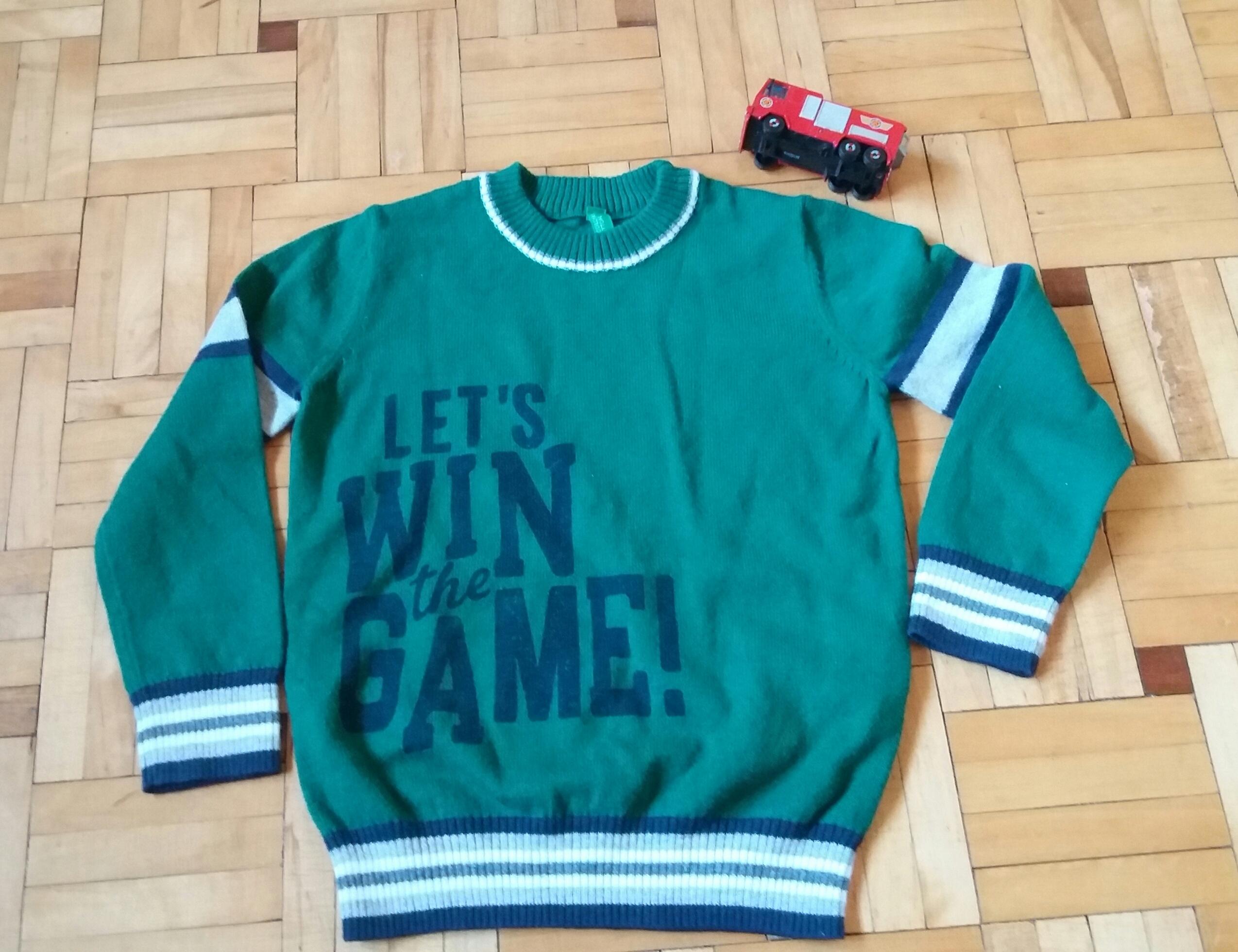 Nowy sweterek Benetton 90