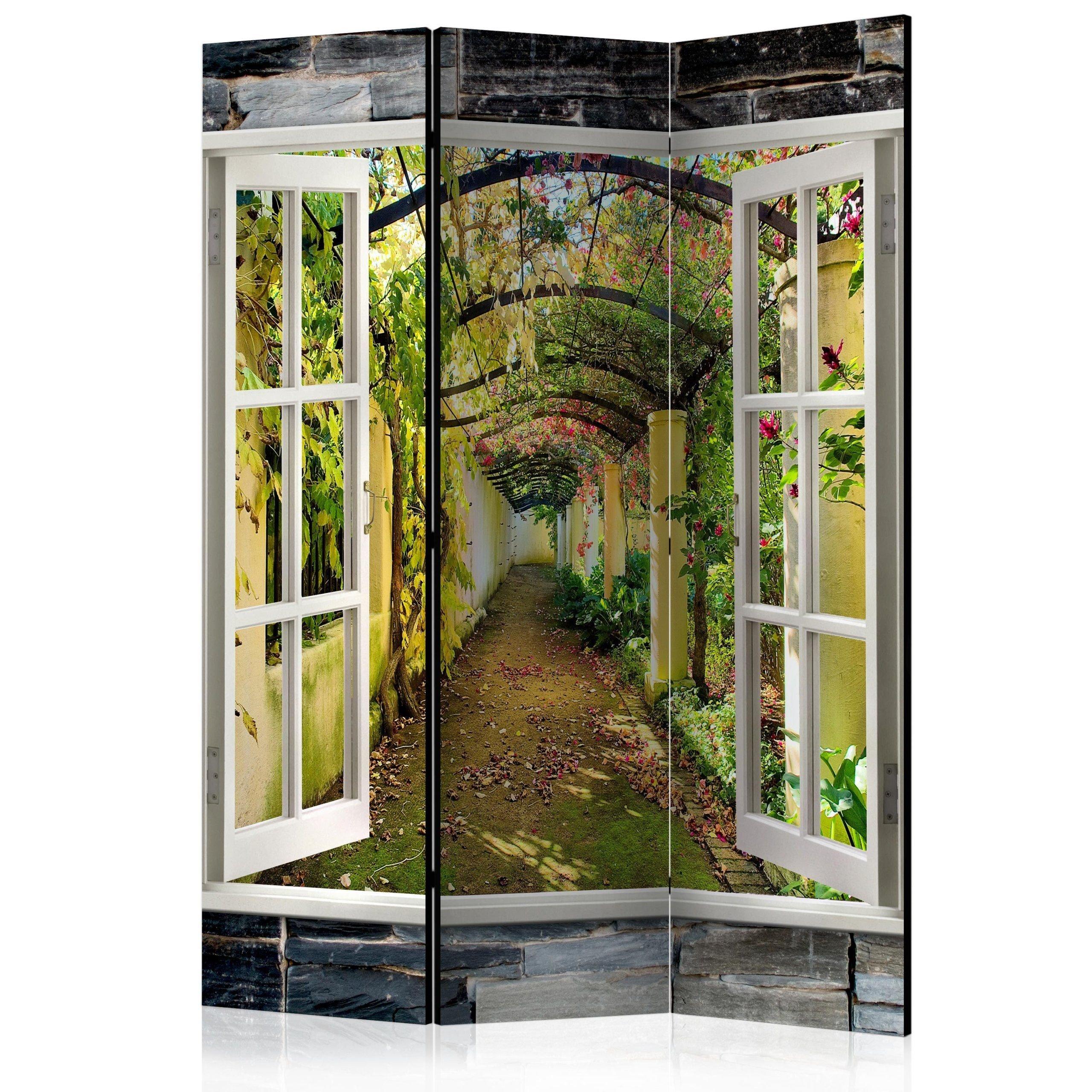 Parawan 3 Częściowy Tajemniczy Ogród Room Divid