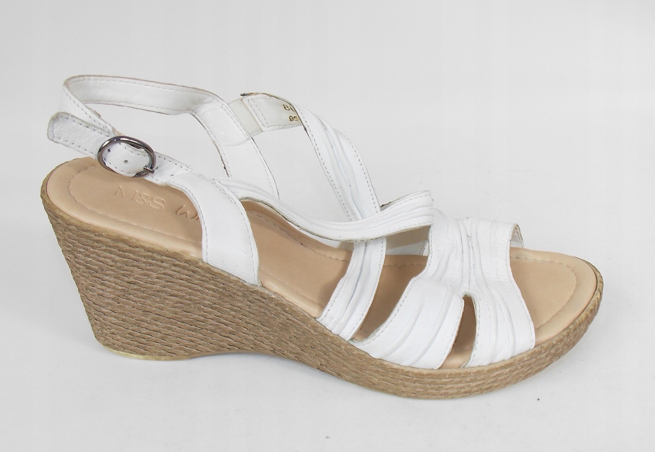 sandały M&S styl CLARKS klasyczne lekkie 41