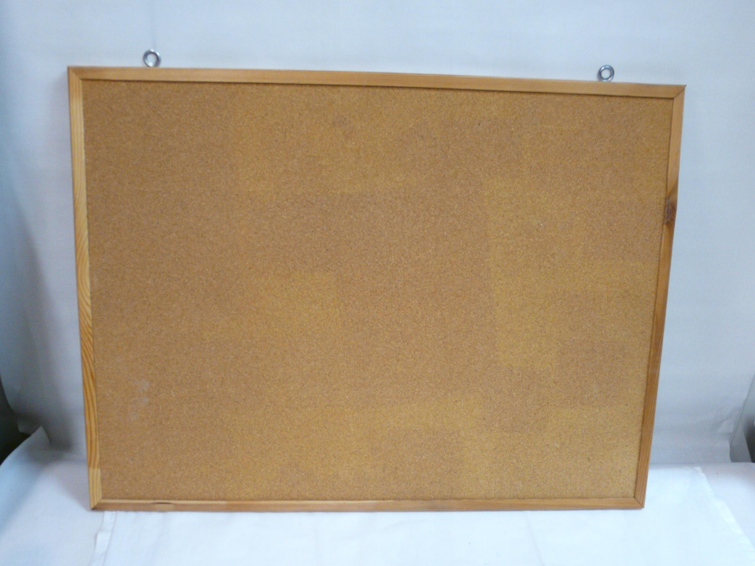 Tablica korkowa 60 x 80 cm