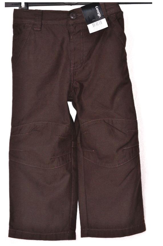 PROMOCJA * GEORGE * SPODNIE jeansy* 2-3L - NOWE