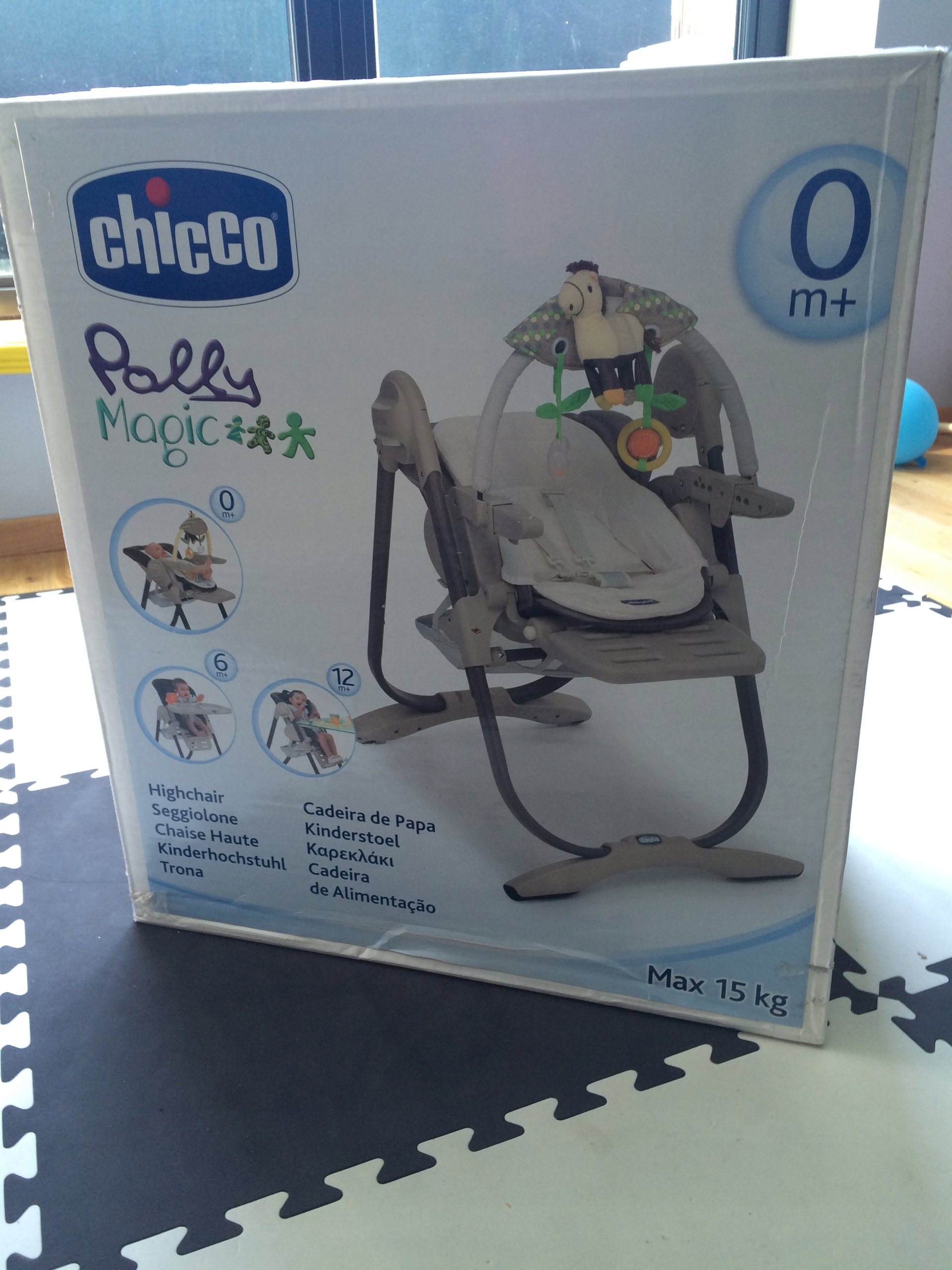 CHICCO POLLY MAGIC 3W1 KRZESEŁKO