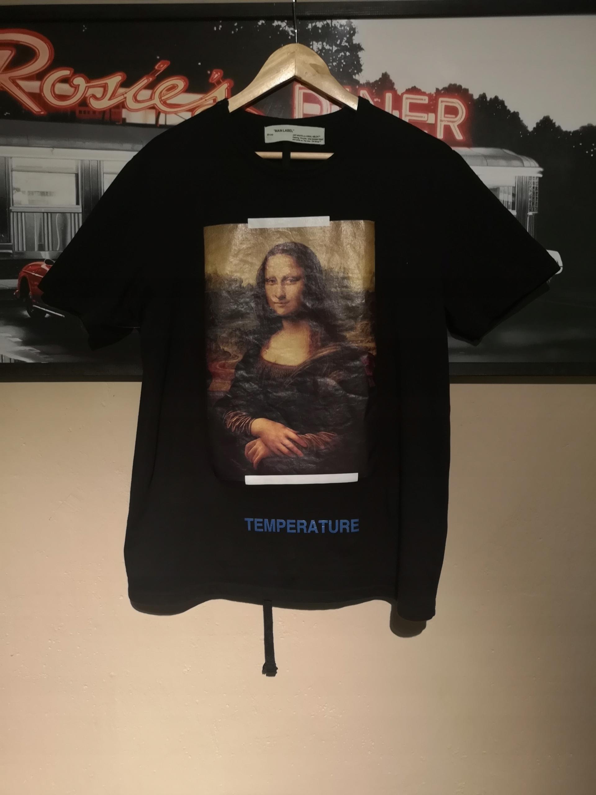 c00eb6384f2396 T-shirt Off White Mona Lisa rozm L supreme gucci - 7877478451 ...