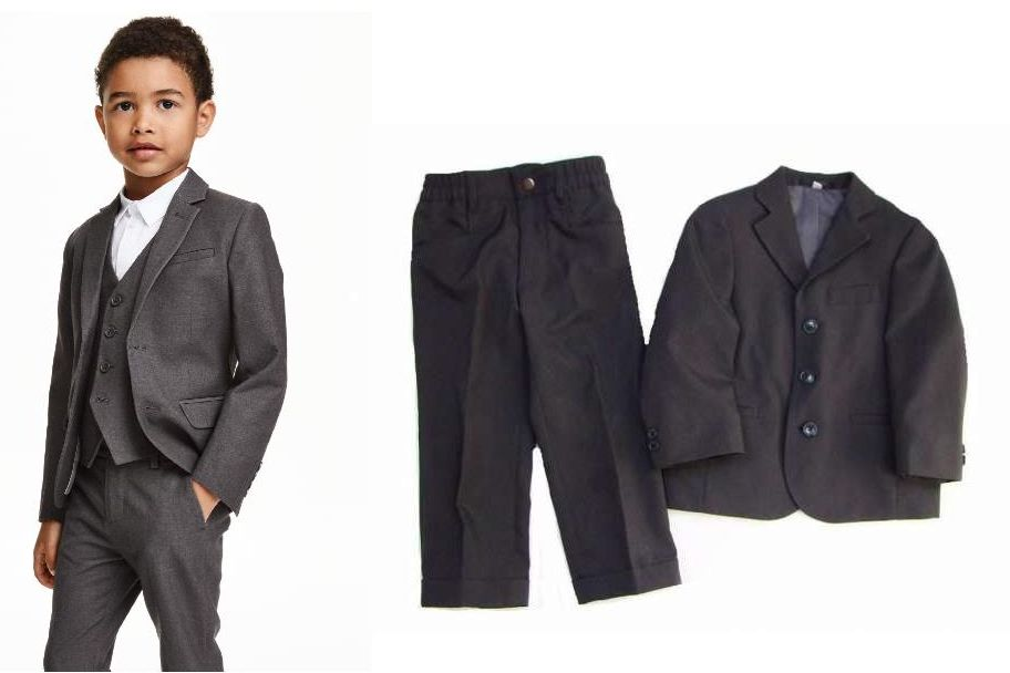 C&A elegancki GARNITUR spodnie marynarka 92