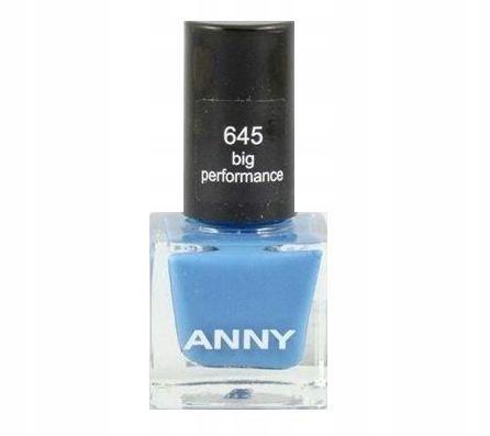 Anny Nail Lacquer 645 Big Performance Mini lakier