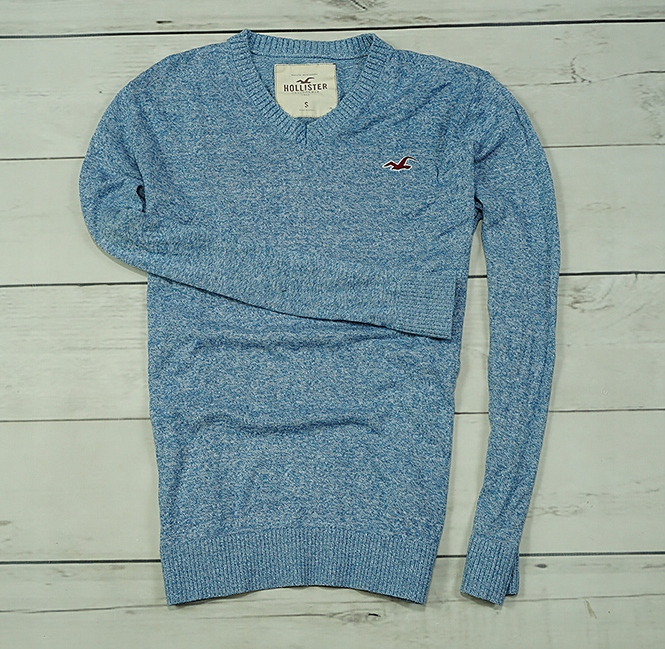 HOLLISTER _ SWETER _ S _ Abercrombie BLUE 2019