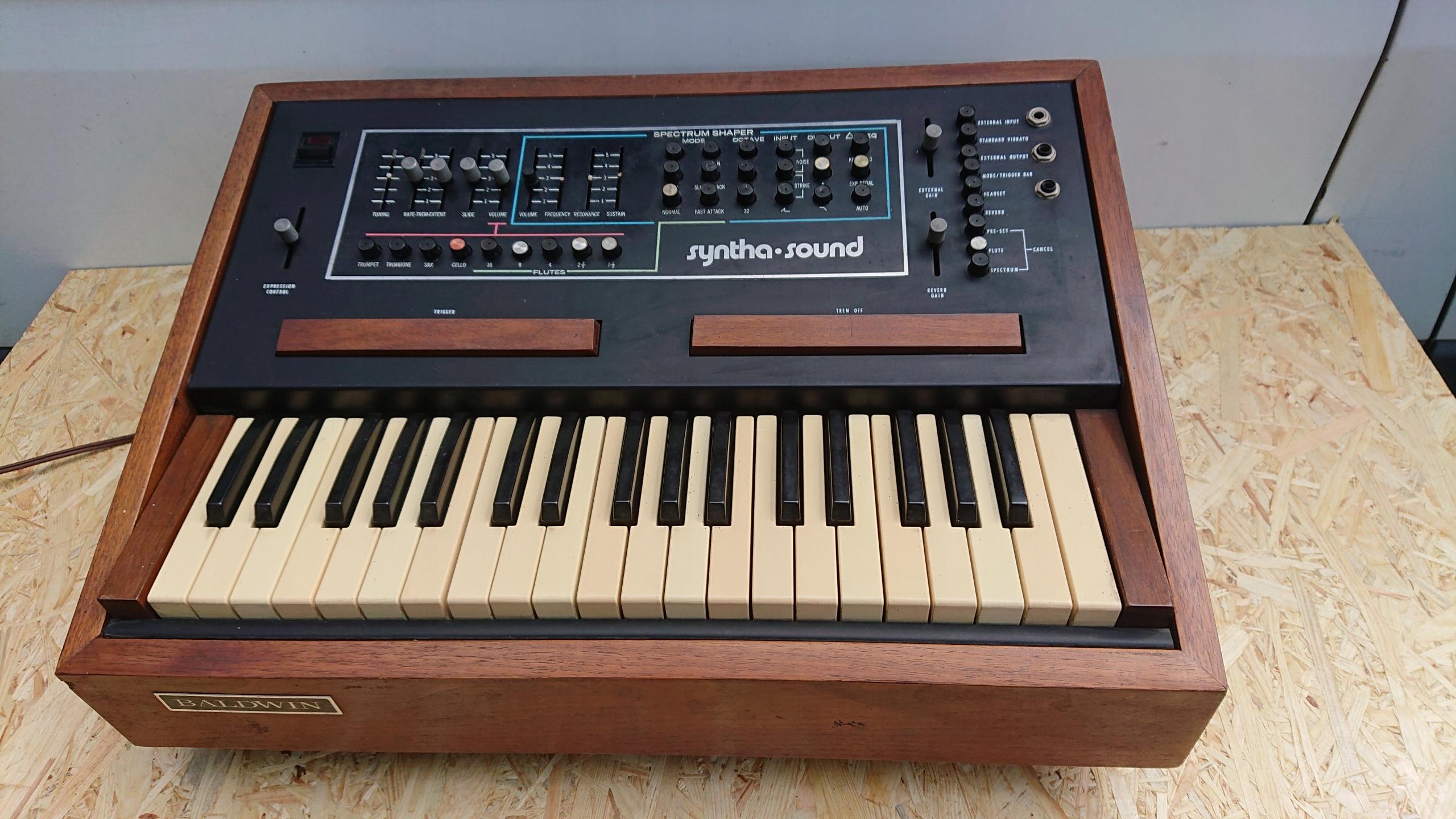 1973 Vintage Analog Syntezator BALDWIN SYNTHASOUND