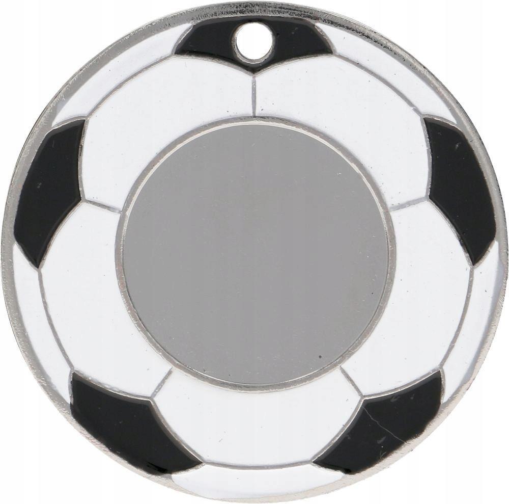Tryumf Medal srebrny - piłka nożna - medal stalowy