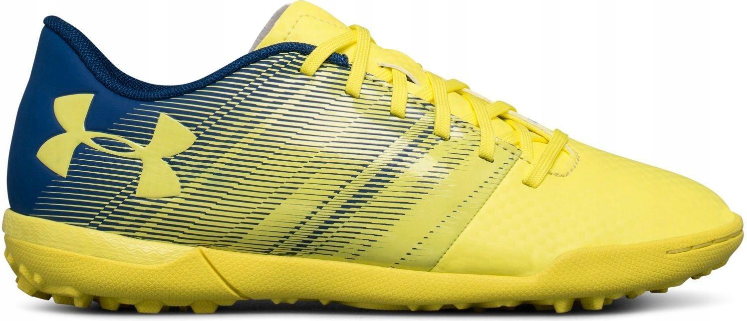 Under Armour Buty piłkarskie Spotlight TF JR żółte