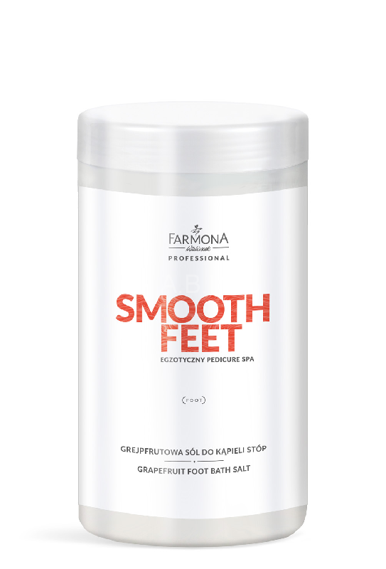 FARMONA SMOOTH FEET Grejpfrutowa sól do stóp 1500g