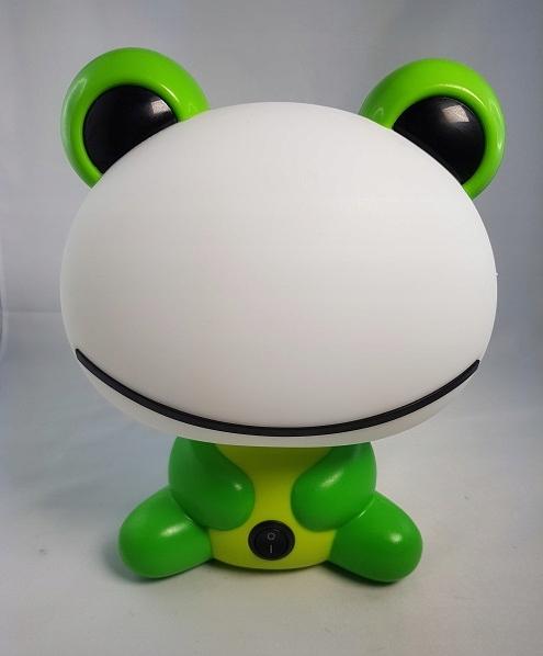 Lampka nocna zielona żaba