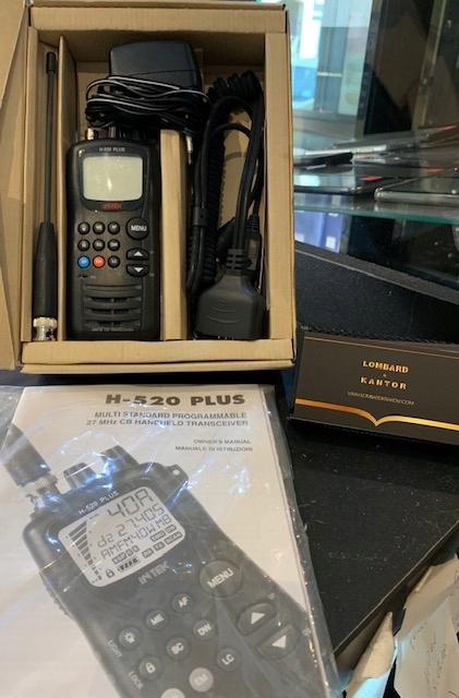 UŻYWANY JAK NOWY RADIOTELEFON INTEK H-520 PLUS