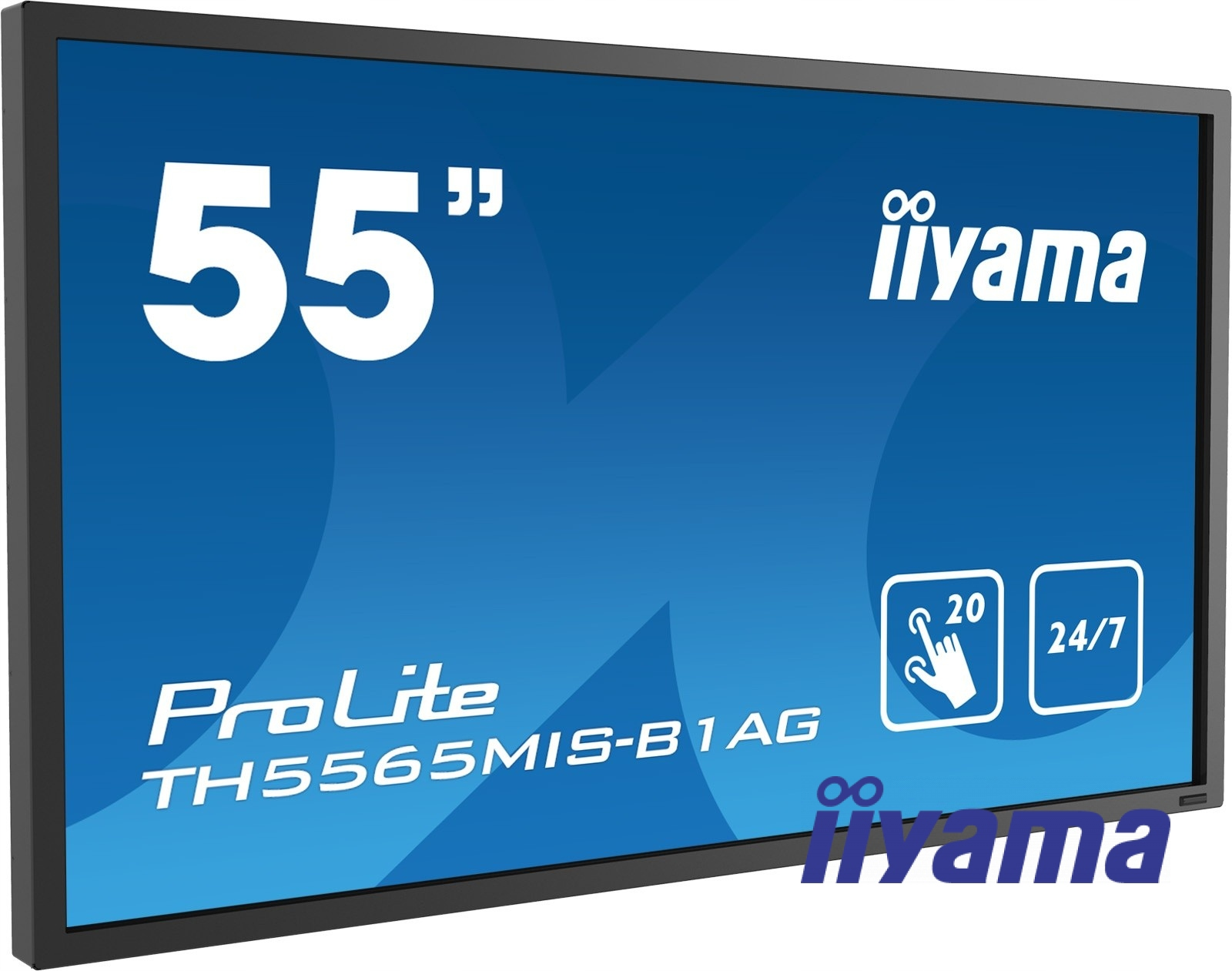"Monitor dotykowy iiyama TH5565MIS-B1AG 55"" 24"