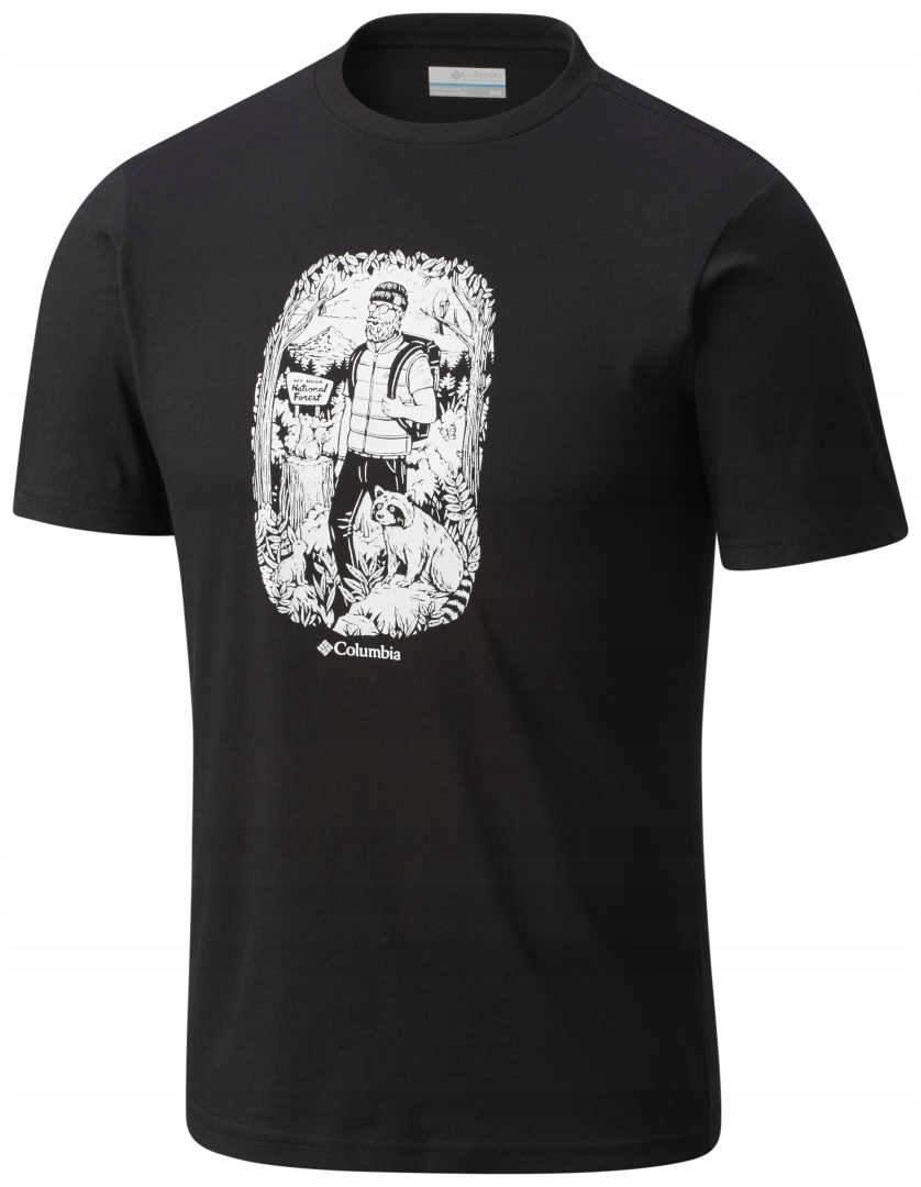 Koszulka Columbia Ward Ridge Short Sleeve Black L