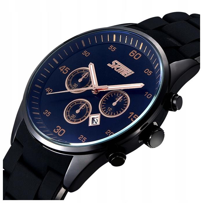 Zegarek męski SKMEI bransoleta datownik 4 kolory