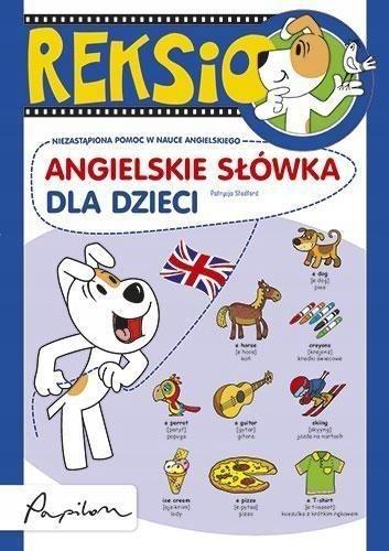 Reksio. Angielskie słówka dla dzieci ŁÓDŹ + gratis