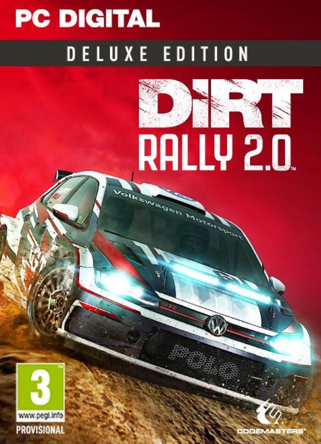 Dirt Rally 2.0 Edycja Deluxe PC Klucz Steam