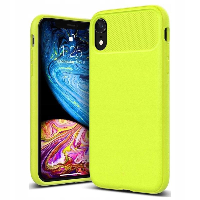 Caseology Vault Case - Etui iPhone XR (Lime)