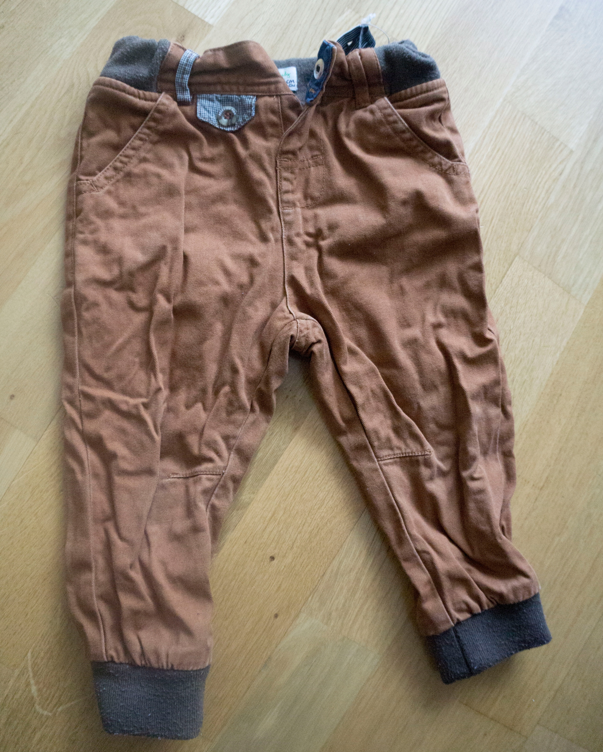 Spodnie Reserved 86 z podszewką