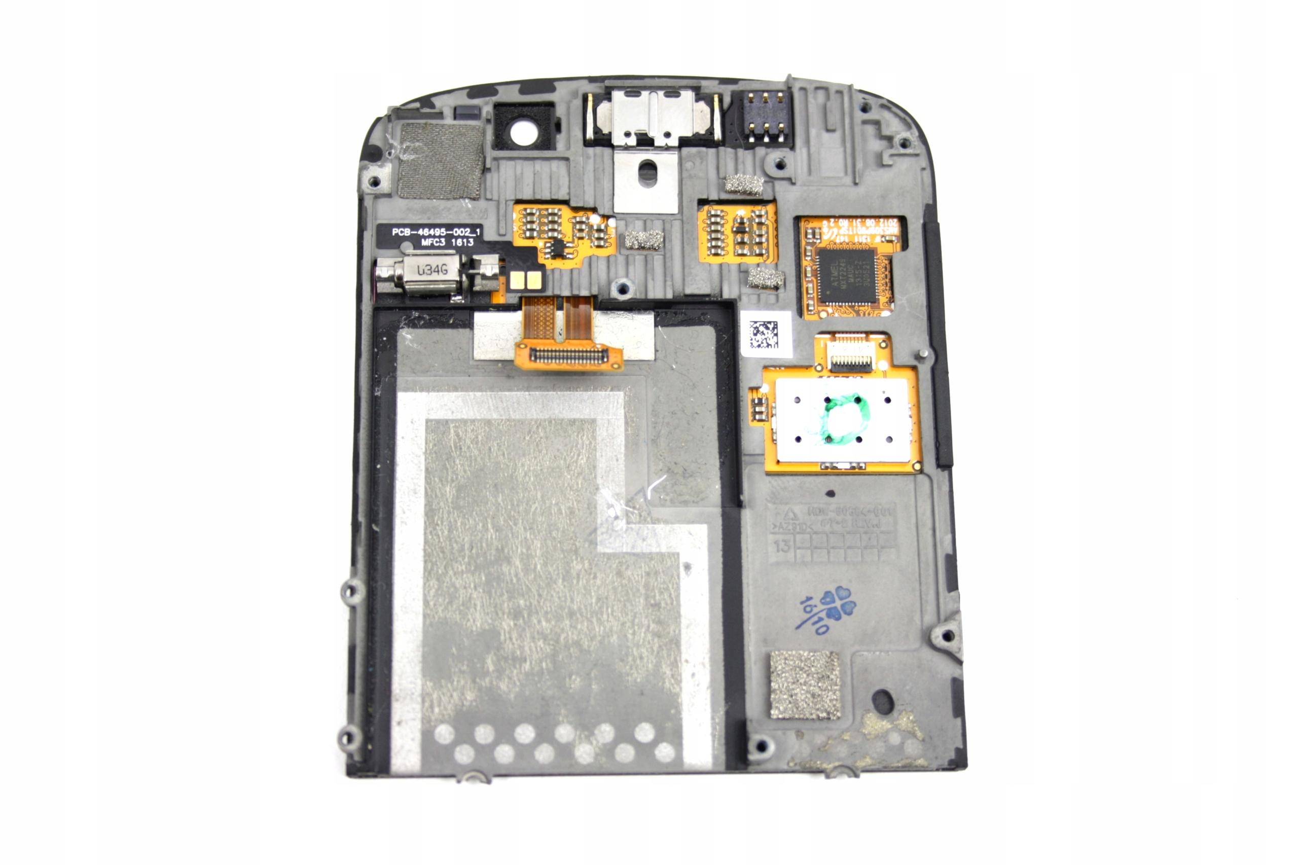 SZYBKA 167. LCD DIGITIZER BLACKBERRY BOLD 9900