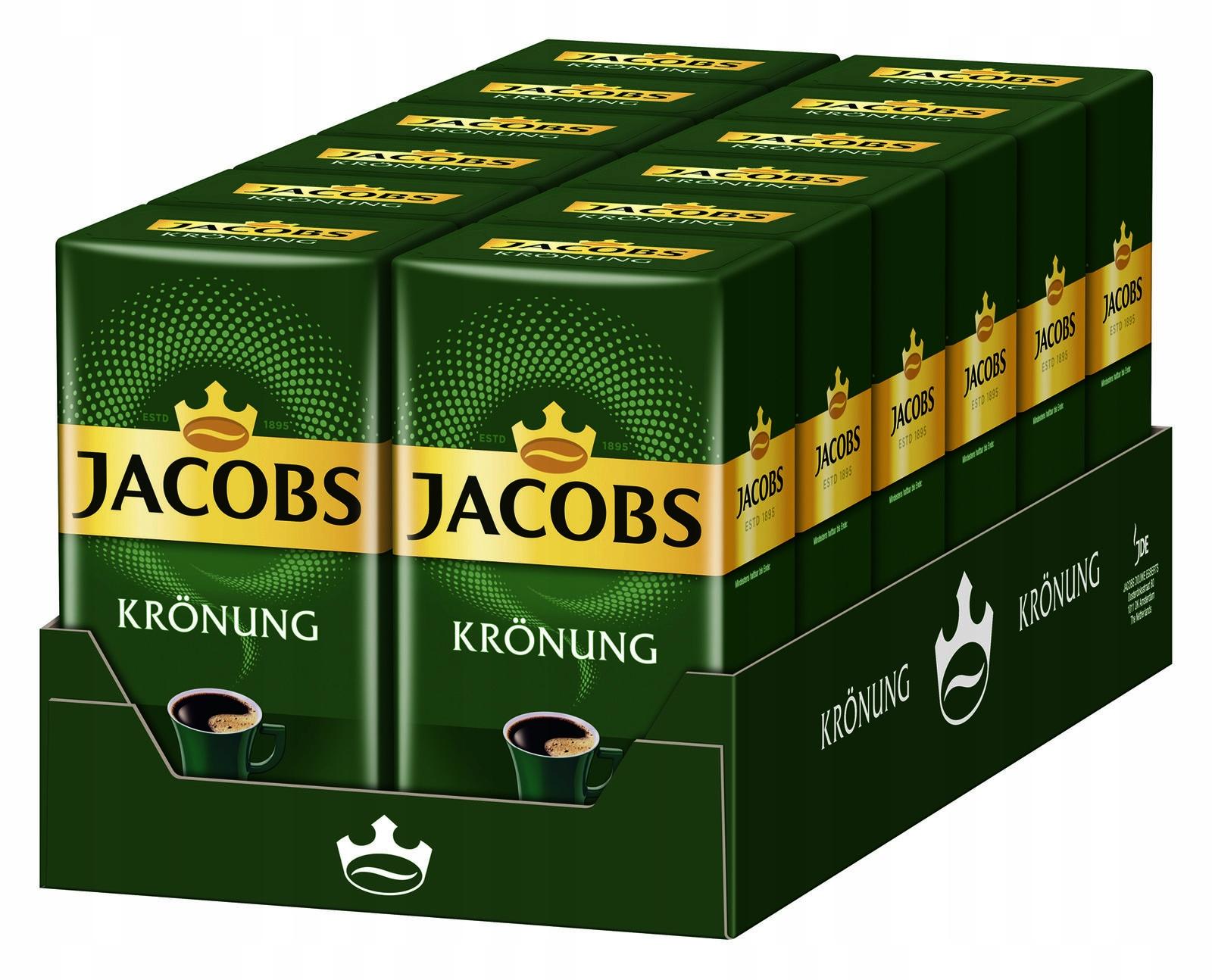 Jacobs Kronung kawa mielona box 12x500g=6kg