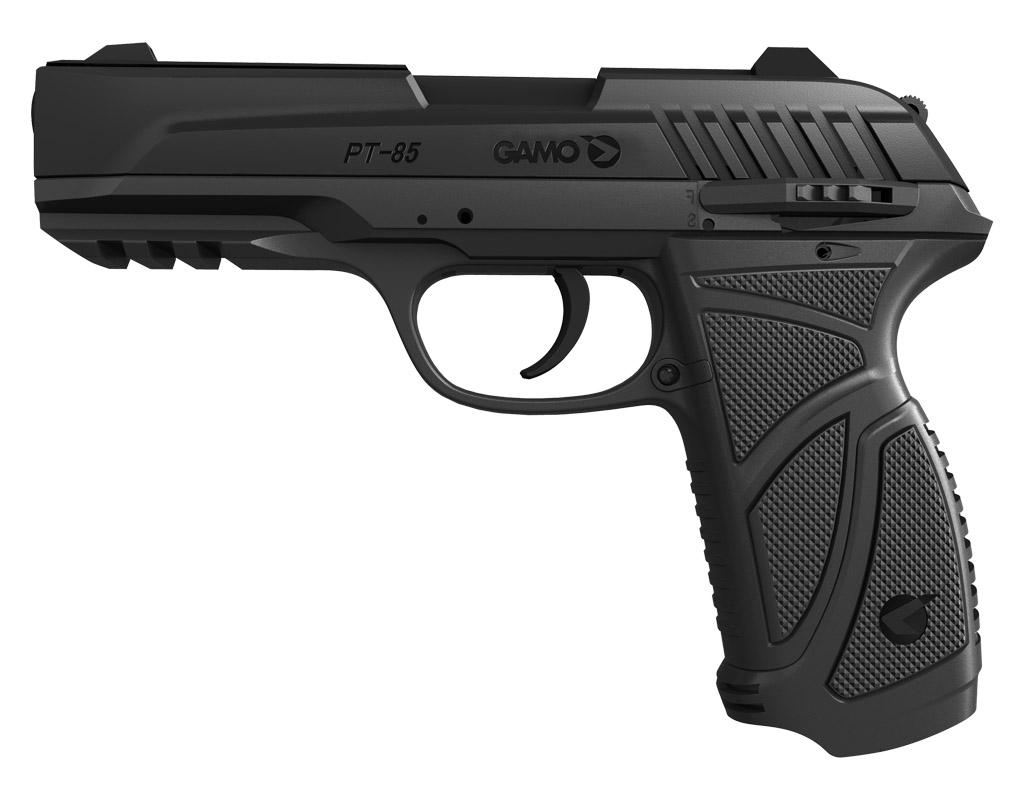 Wiatrówka pistolet GAMO PT85 4,5mm CO2 Blow Back