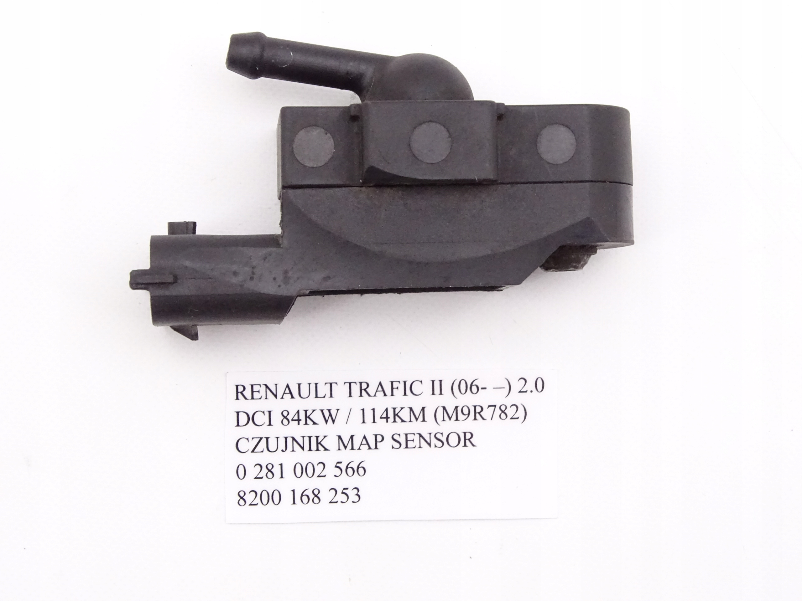 RENAULT TRAFIC II 2 0 DCI @ CZUJNIK MAP SENSOR - 7792983020