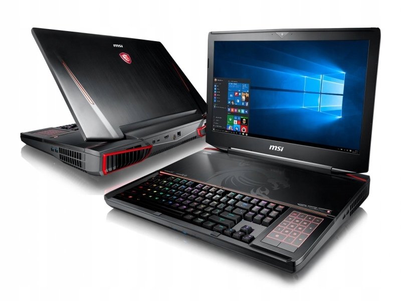 OUTLET MSI GT83 i7 32GB 512PCIe+1TB 1080SLI Win10