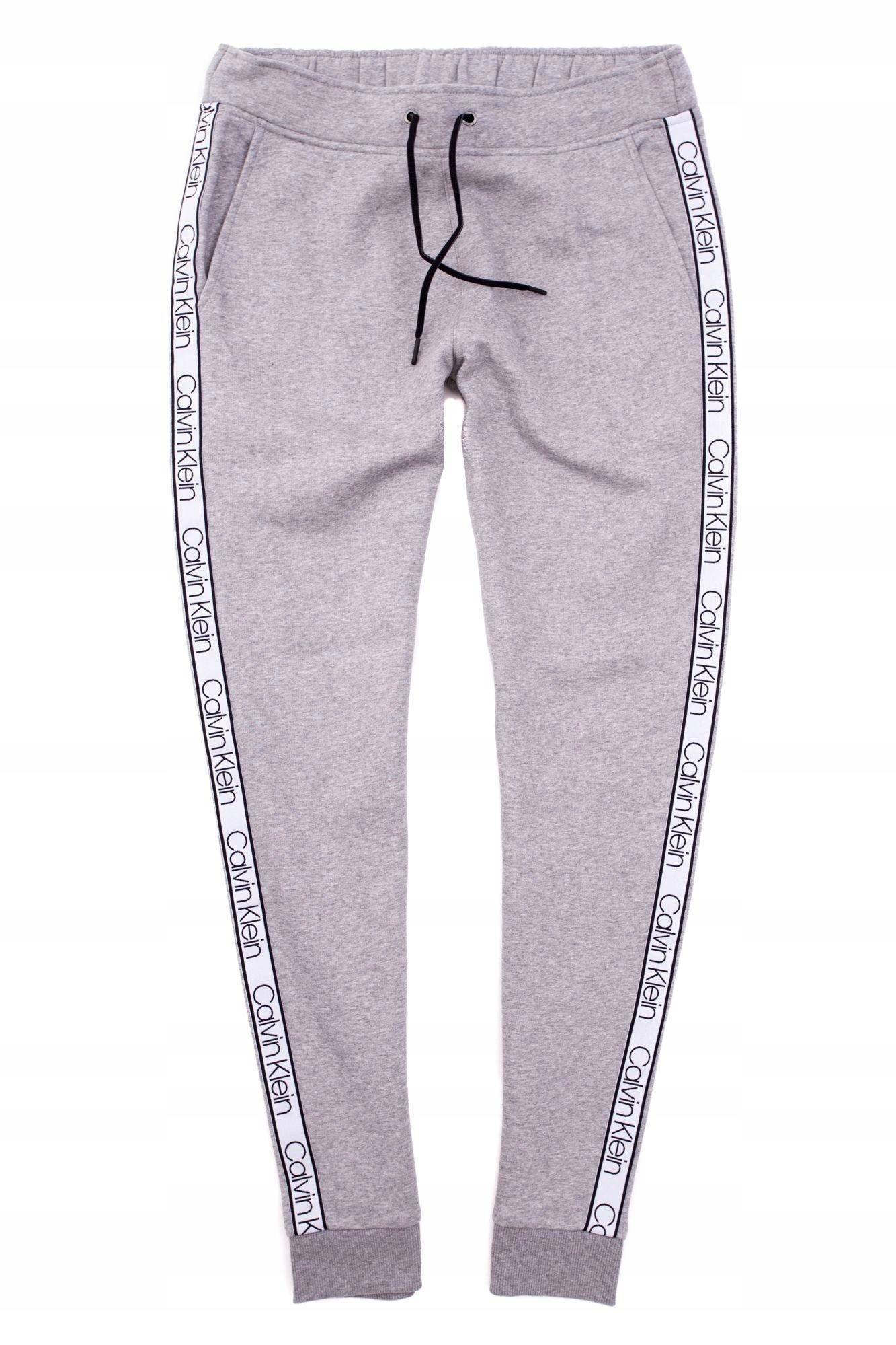 Calvin Klein Spodnie dresowe dresy męskie Logo r L