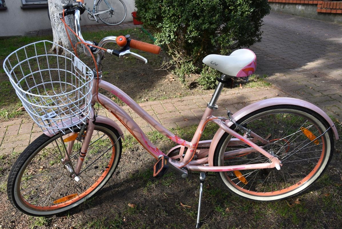 rower miejski dziewczęcy 24'' Giant Gloss