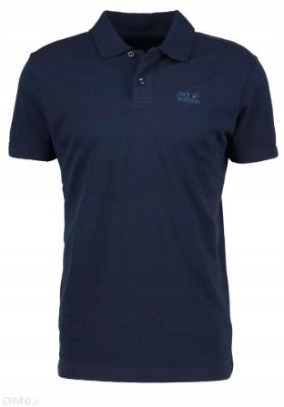 E46 JACK WOLFSKIN t-shirt polo GRANAT r. M
