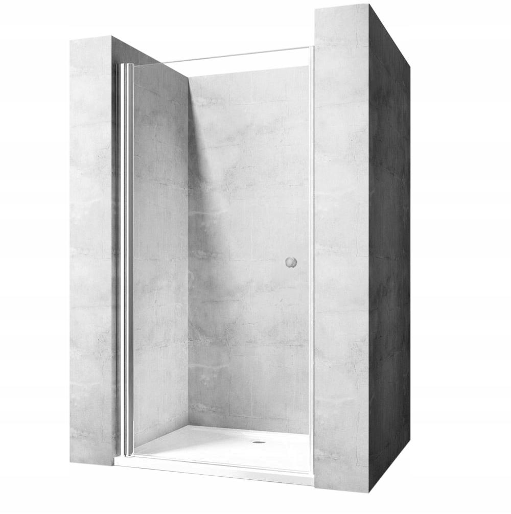 Drzwi prysznicowe otwierane OPEN SPACE 80 LEWE