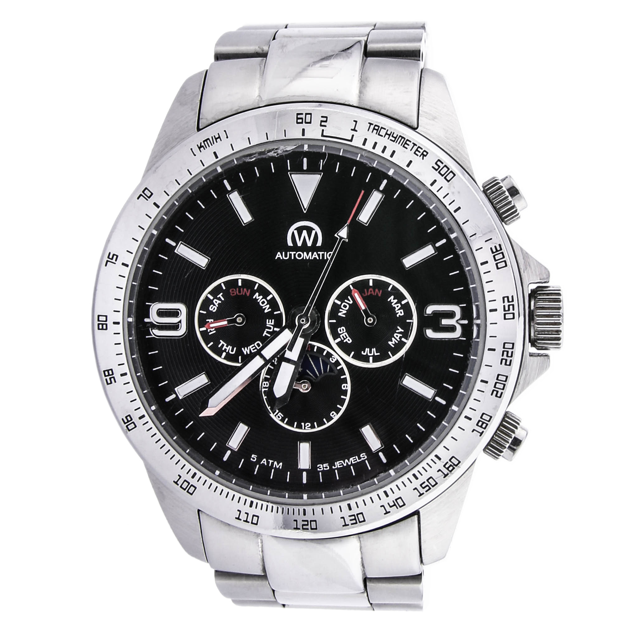 Zegarek CHRONOWATCH HB5160C1BM1 AUTOMAT datownik